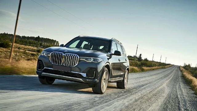 2021 BMW X7 facelift