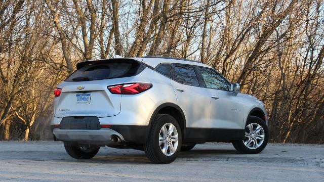 2021 Chevrolet Blazer changes