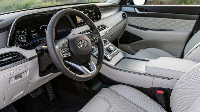 2021 Hyundai Palisade Calligraphy interior