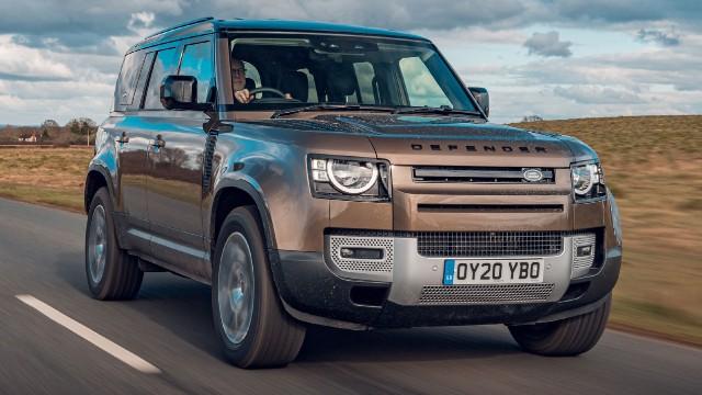 2021 Land Rover Defender V8 exterior