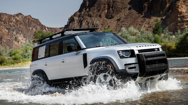2021 Land Rover Defender V8 price