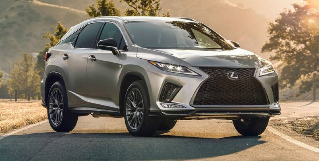 2021 Lexus RX 350 changes