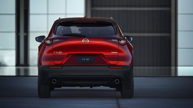 2021 Mazda CX-30 rear