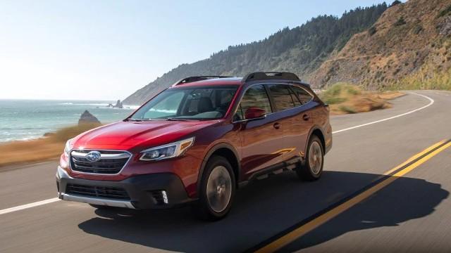 2021 Subaru Outback facelift