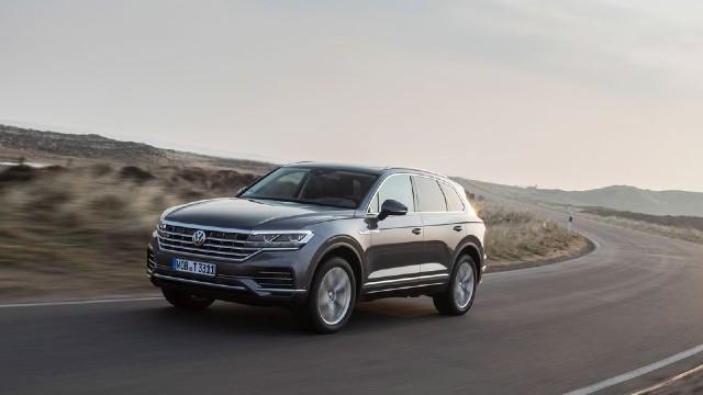 2021 Volkswagen Touareg facelift