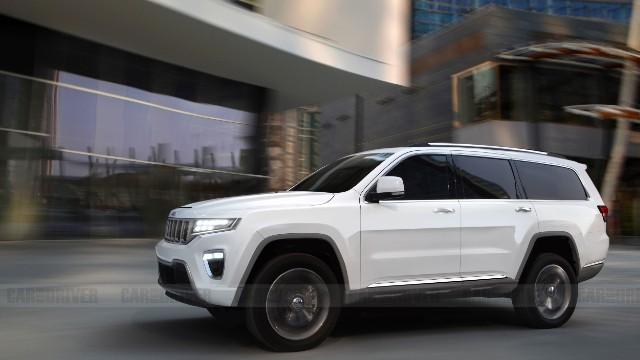2022 Jeep Wagoneer render