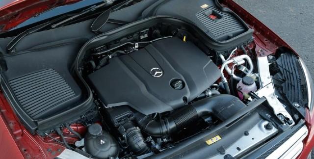 2022 Mercedes-Benz GLC engine