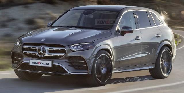 2022 Mercedes-Benz GLC rendered