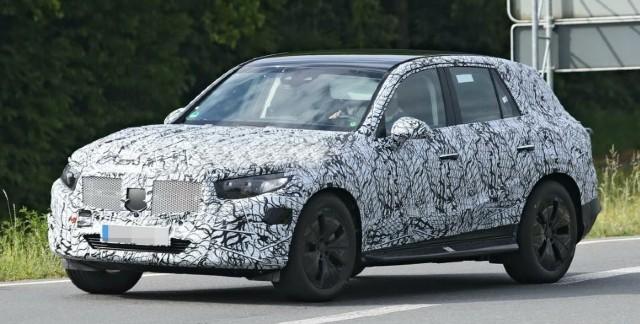 2022 Mercedes-Benz GLC spy photos