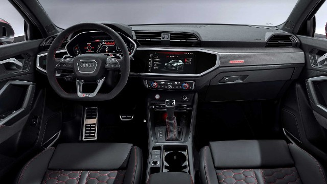 2021 Audi SQ3 interior