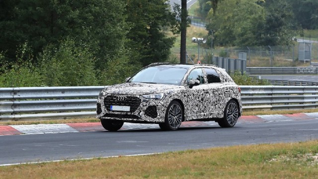 2021 Audi SQ3 spy shots