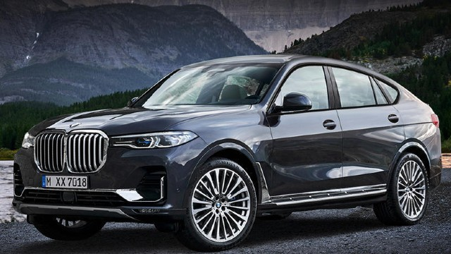 2021 BMW X8 rendered