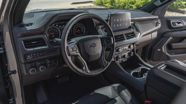 2021 Chevy Tahoe Z71 interior