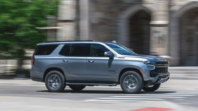2021 Chevy Tahoe Z71 styling