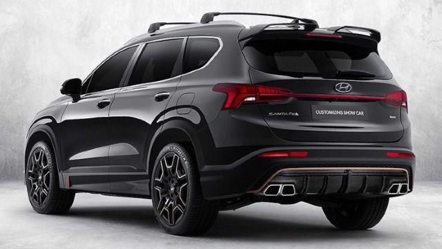 2021 Hyundai Santa Fe N design