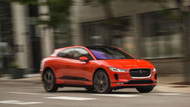 2021 Jaguar I-PACE changes