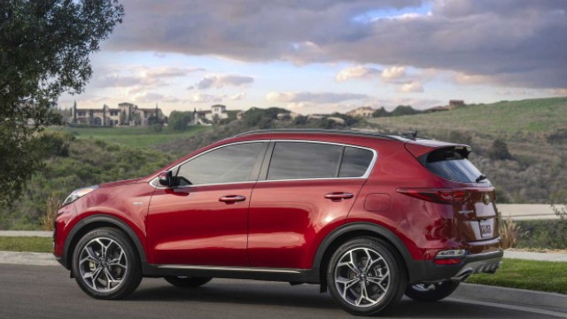2021 Kia Sportage changes