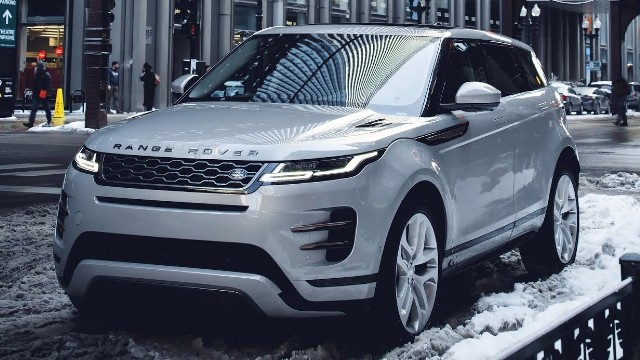 2021 Land Rover Range Rover Evoque facelift