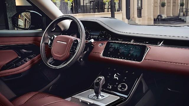 2021 Land Rover Range Rover Evoque interior