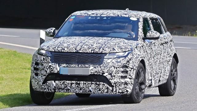 2021 Land Rover Range Rover Evoque spy photos
