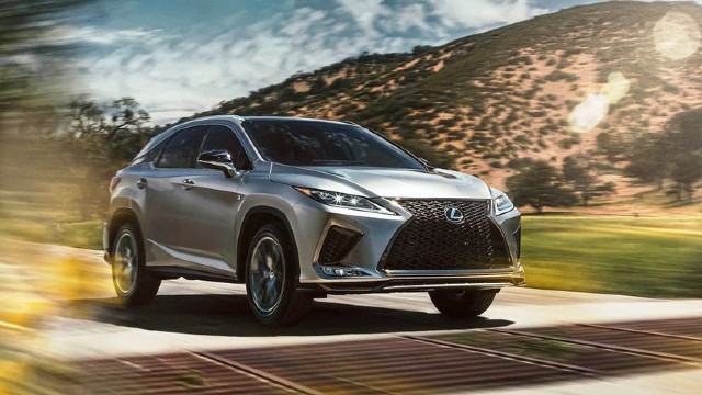 2021 Lexus RX 450h colors