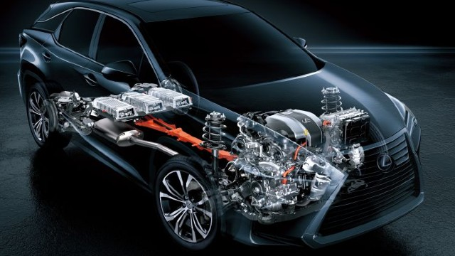 2021 Lexus RX 450h specs
