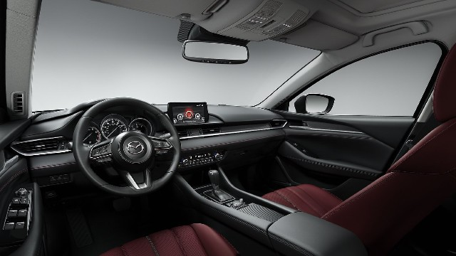 2021 Mazda CX-5 Carbon Edition interior