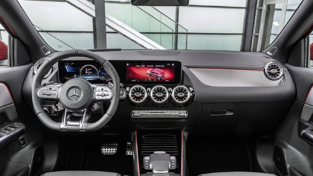 2021 Mercedes-AMG GLA 35 interior