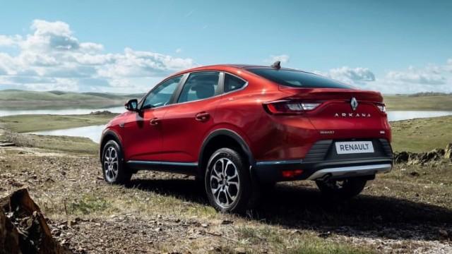 2021 Renault Arkana redesign