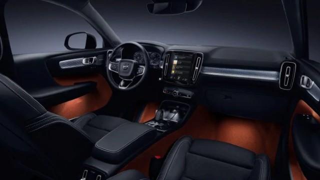 2021 Volvo XC40 interior