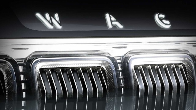 2022 Jeep Grand Wagoneer grille