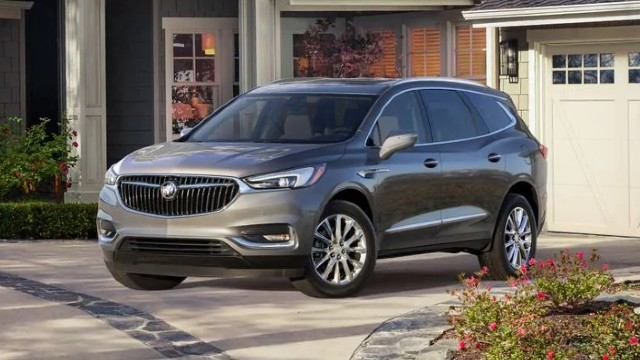 2021 Buick Enclave colors