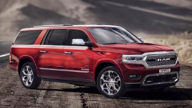 2021 Dodge Ramcharger rendering