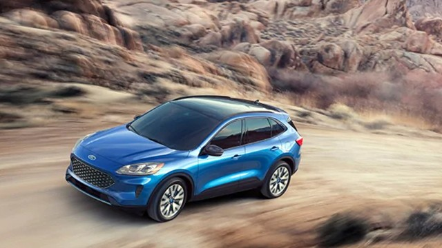2021 Ford Escape Hybrid mpg