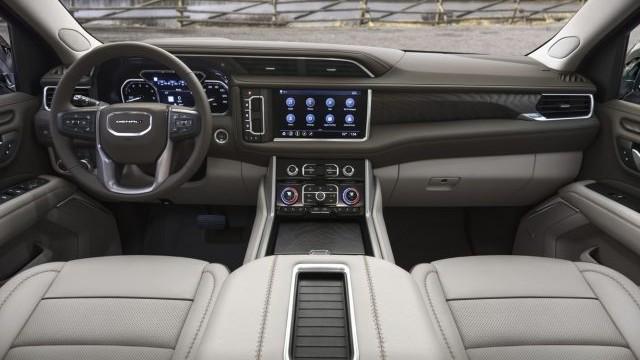 2021 GMC Yukon XL interior