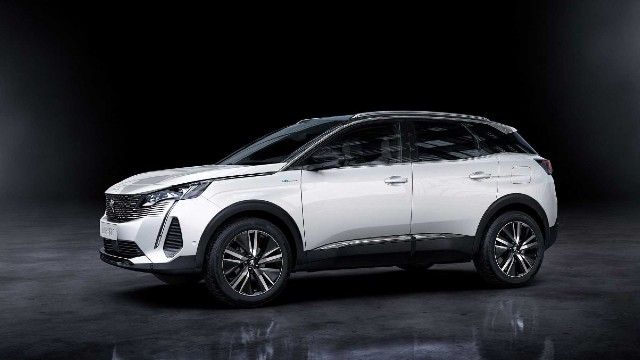2021 Peugeot 3008 facelift