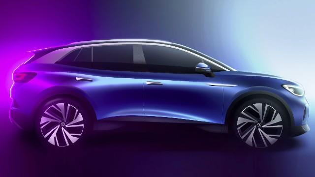 2021 Volkswagen ID.4 design