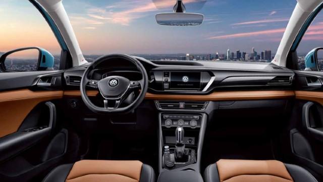 2021 Volkswagen Taos interior