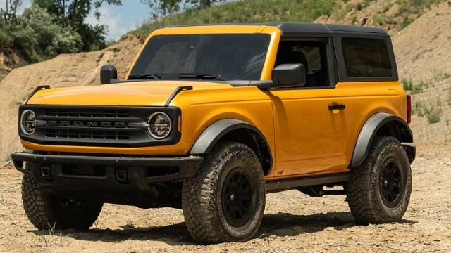 2021 Ford Bronco Raptor cost