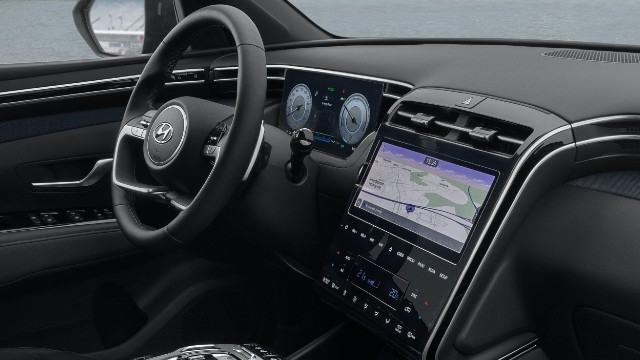 2021 Hyundai Tucson N interior