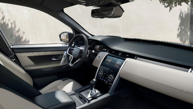 2021 Land Rover Discovery Sport interior