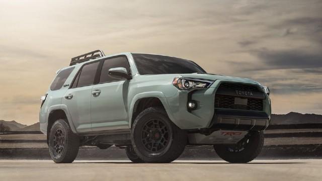 2021 Toyota 4Runner TRD Pro colors