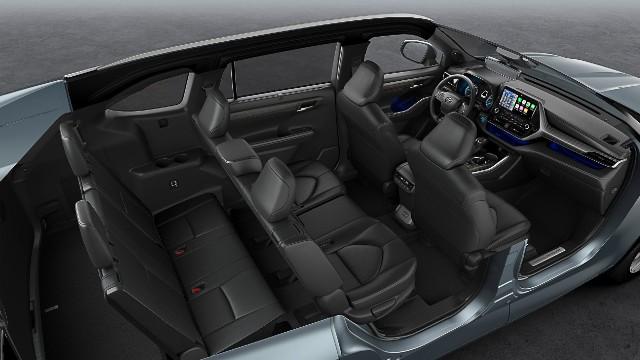 2021 Toyota Kluger interior