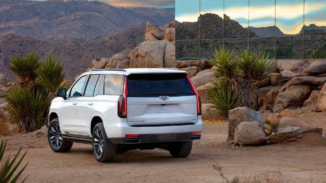 2022 Cadillac Escalade release date
