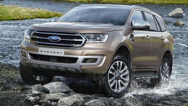 2022 Ford Everest design