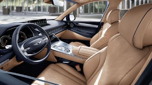 2022 Genesis GV70 interior