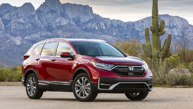 2022 Honda CR-V redesign