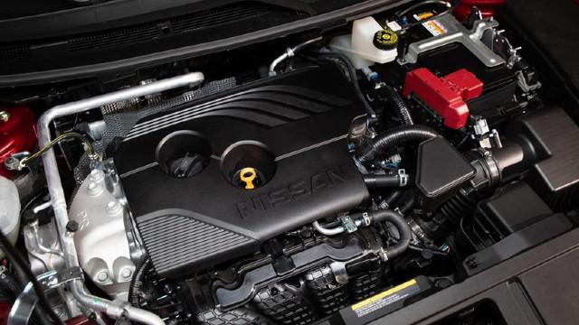 2022 Nissan Rogue engine