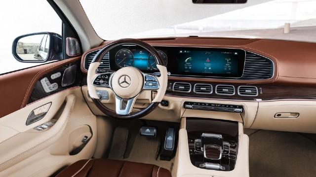 2021 Mercedes-Maybach GLS600 interior