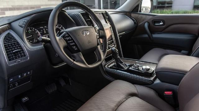 2022 Infiniti QX80 interior